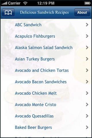 Delicious Sandwich Recipes