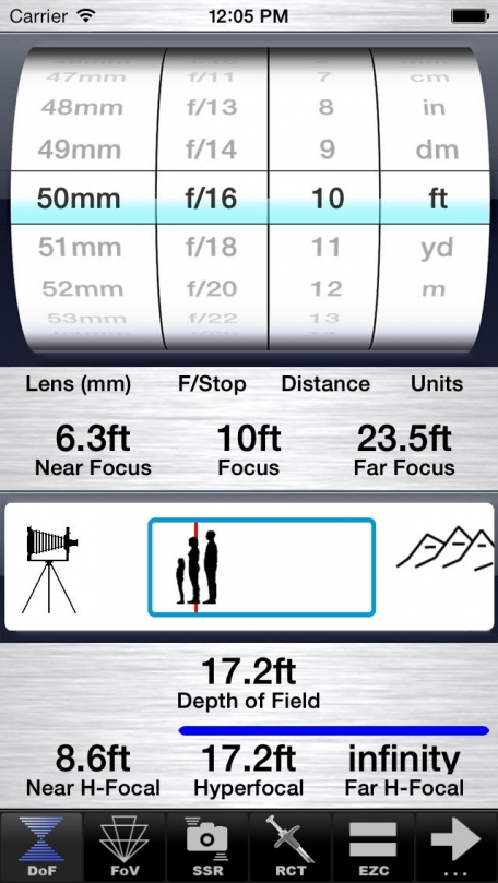 SetMyCamera Pro - Tools for Professional Quality Photography with Depth of Field & Hyperfocal Calculator and remote wireless camera release for self portrait, time-lapse, HDR or photo bracketing.