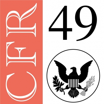 49 CFR - Transportation (Title 49 Code of Federal Regulations)