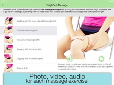 5 massage courses. Anti-cellulite and weight-loss massage
