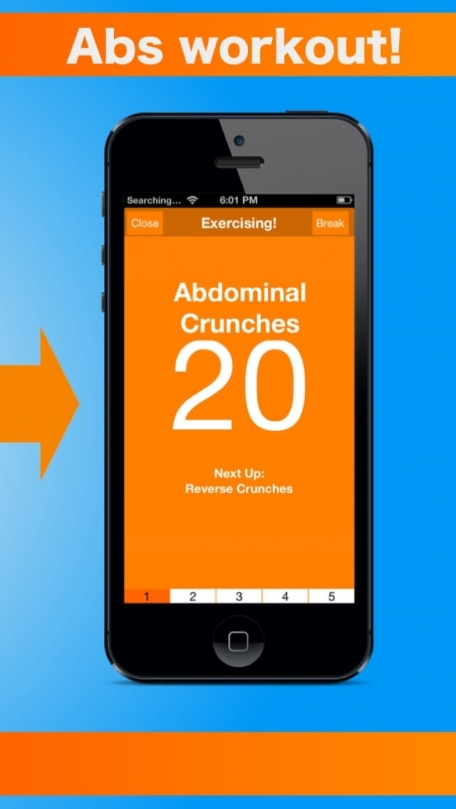 5 Minute Abs - Free