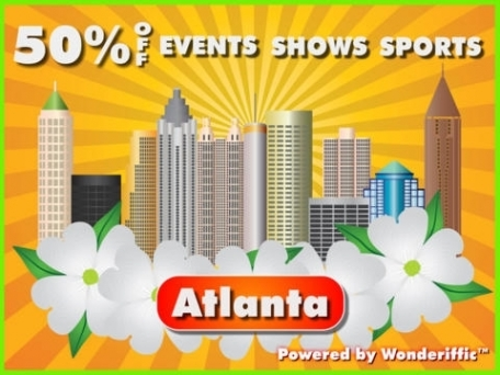 50% Off Atlanta, Georgia Events, Attractions, & Sports Guide Plus by Wonderiffic ®
