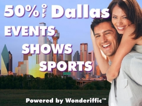 50% Off Dallas & Fort Worth Shows, Events, Attractions, & Sports Guide Plus by Wonderiffic ™