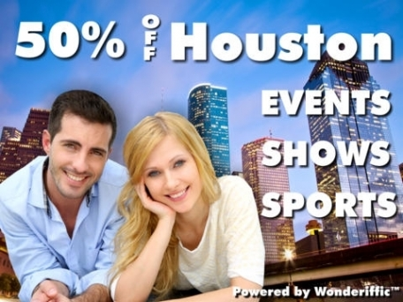 50% Off Houston Shows, Events, Attractions, & Sports Guide Plus by Wonderiffic ™