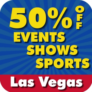 50% Off Las Vegas Strip & Downtown Events, Shows & Sports Guide by Wonderiffic ®