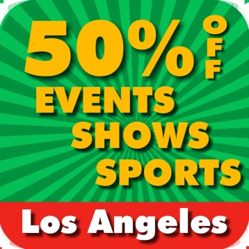 50% Off Los Angeles & Hollywood Events, Shows & Sports Guide by Wonderiffic ®