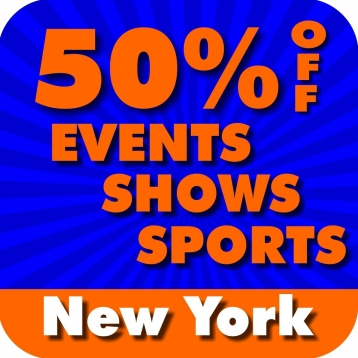 50% Off New York City & Broadway Events, Shows & Sports Guide by Wonderiffic ®