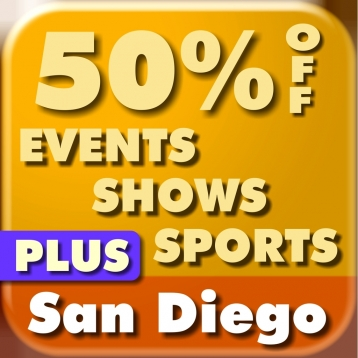 50% Off San Diego Shows, Events, Attractions, & Sports Guide Plus by Wonderiffic ™