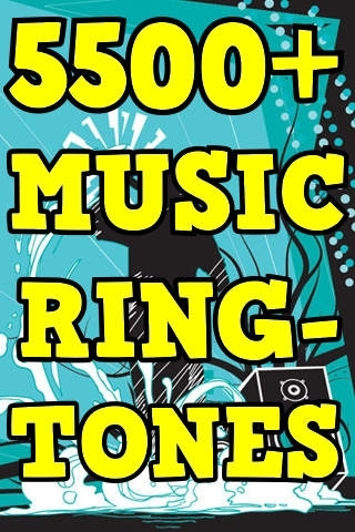 5500 Amazing Music Ringtones Pack