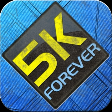 5K Forever: 5K pace training. 5K Runner - run faster.
