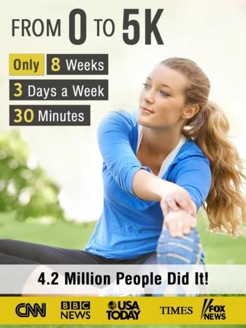 5K Runner: 0 to 5K run training, free