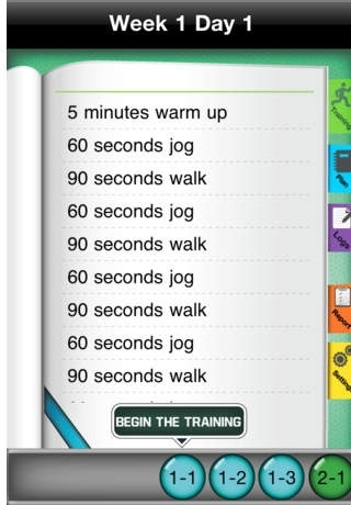5K Training Free