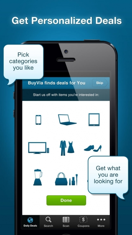 BuyVia – Online, Mobile Shopping App with Best Deals, Coupons, Sales, Savings, & Discounts to Save Money