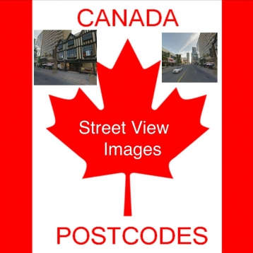 6 Digits Canada Postcode Location Finder and Street View Images