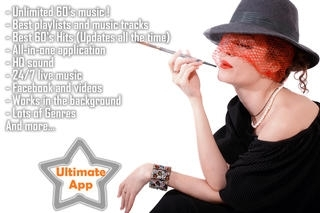 60's Music Unlimited. Top oldies & retro radio hits from all genres