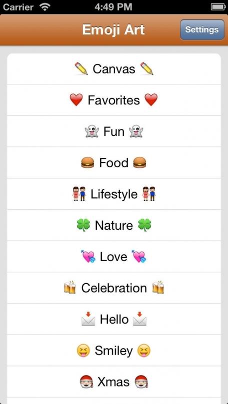 Emoji Art Text Emoticons Color Symbols Keyboard Fonts For Mms