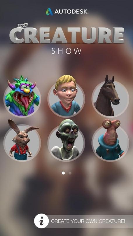 123D Creature Show