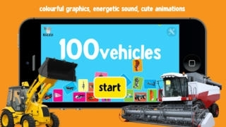 100 Vehicles for Babies & Toddlers