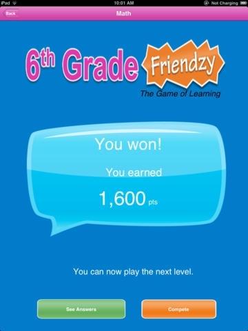 6th Grade Friendzy
