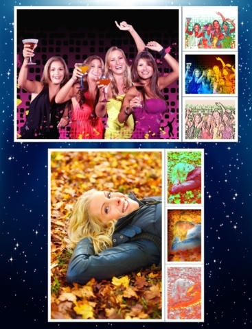 1001 Photo Effects - image fx, filter, color  & splash for your camera pictures