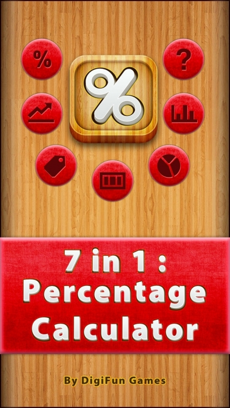 7 in 1 : Percentage Calculator