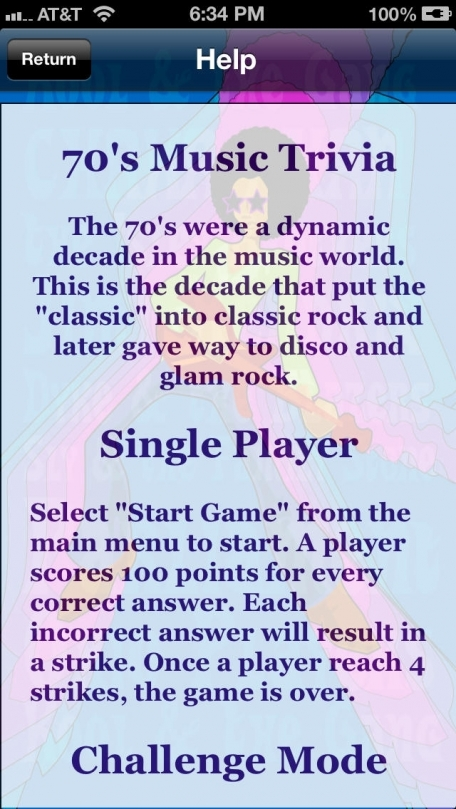 70's Music Trivia