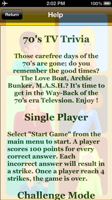 70's TV Trivia