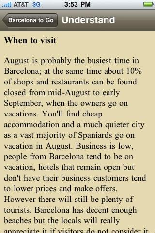 Barcelona to Go Pro - Spain