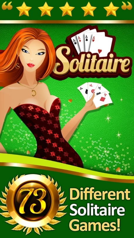 73 Solitaire Card Games