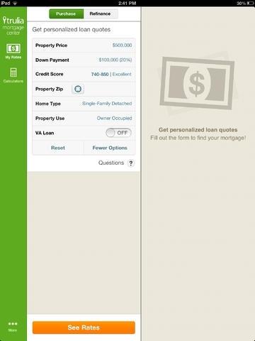 Mortgage Calculator & Home Loan Rates — Trulia Mortgage Center