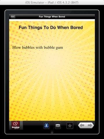 ★☆ Fun Things to do When Bored ☆★