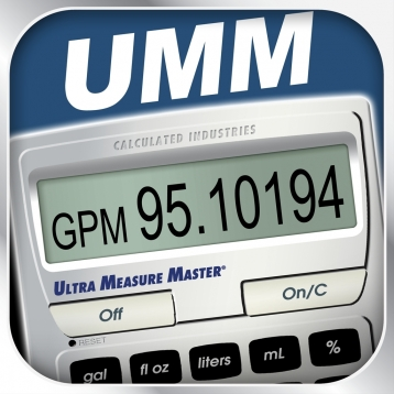 Ultra Measure Master -- Professional US Standard Feet Inch Fraction and Metric Measurement Units Conversion Calculator for Contractors, Engineers, Architects and other Pros