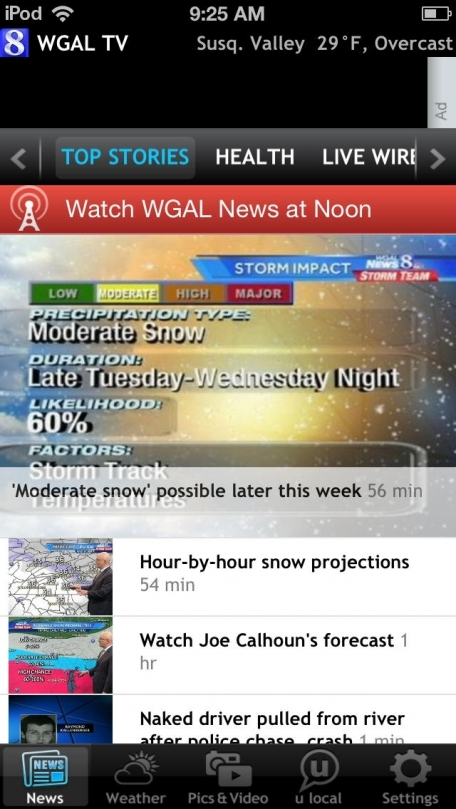 WGAL - Susquehanna Valley free breaking news, weather source