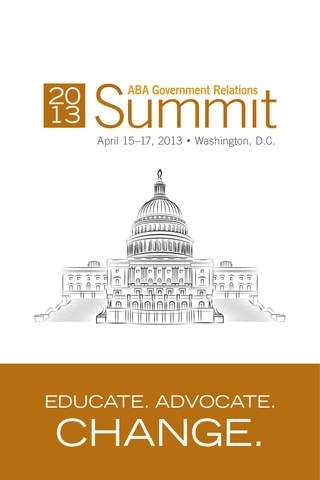 2013 ABA Government Relations Summit