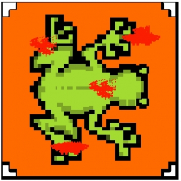8 bit 8 bit Halloween Edition – the free death frog adventure game