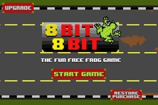 8 Bit 8 Bit - the fun free frog traffic infinite game