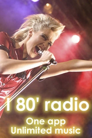 80' music endless hits live. One app - unlimited music