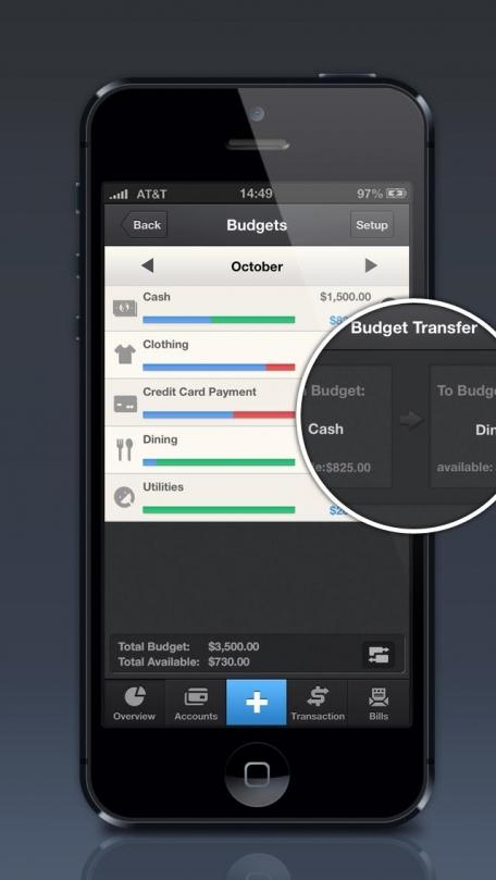 Pocket Expense Personal Finance – Account Tracker, Budget Planner & Bills