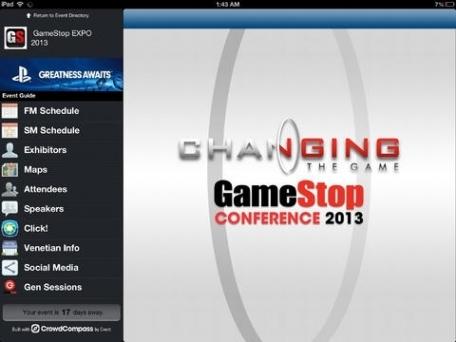 2013 GameStop Conference