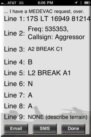 9 Line MEDEVAC Training App