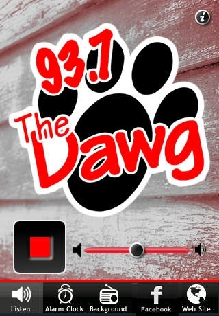 93.7 The Dawg / Country Favorites And Fun / WDGG-FM