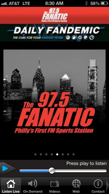 97.5 The Fanatic - Philadelphia