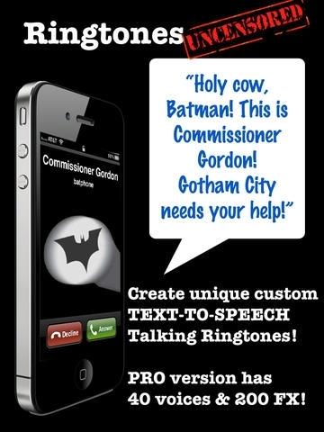 9,999 Ringtones Uncensored MALE Voices Ringtone Creator