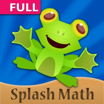Splash Math - 2nd grade worksheets of Numbers, Addition, Subtraction, Time & 9 other chapters [HD Full]