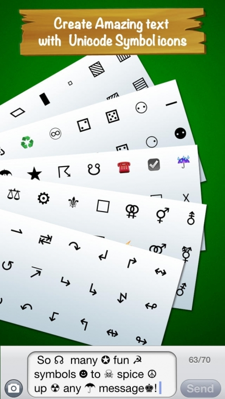 Emoji 2 Unicode Icons Keyboard Add Special Symbols To Messages