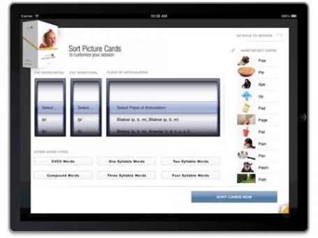 Apraxia Picture Sound Cards APSC Pro