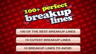 A 100+ Breakup Lines