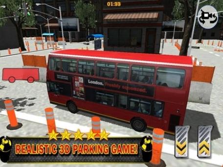 A 3D Bus Parking Challenge PRO - Full eXtreme Double Decker Driving Version