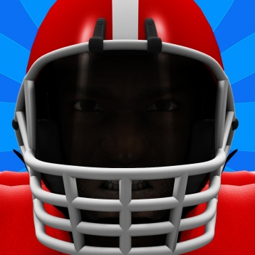 A 3D Super Runner Fantasy: American Football Heroes 2014 Pro