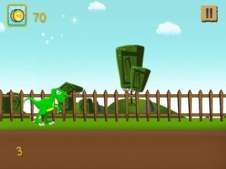 A Baby Dino Run